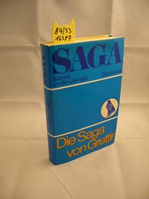 Die Saga von Grettir. aus d. Altisländ.: Seelow, Hubert [Hrsg.]: