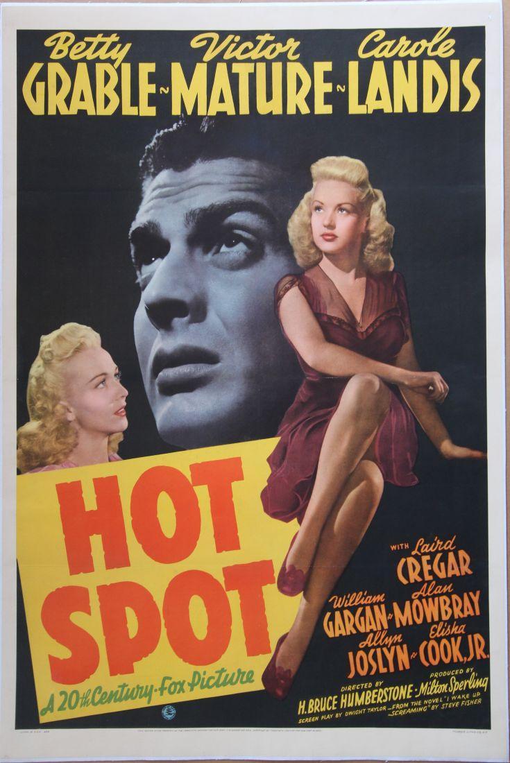 HOT SPOT (1941): Humberstone, H. Bruce (director)