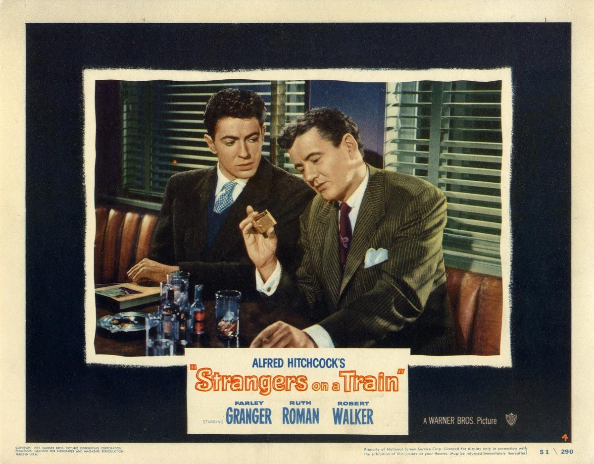 STRANGERS ON A TRAIN (1951): Hitchcock, Alfred (director)