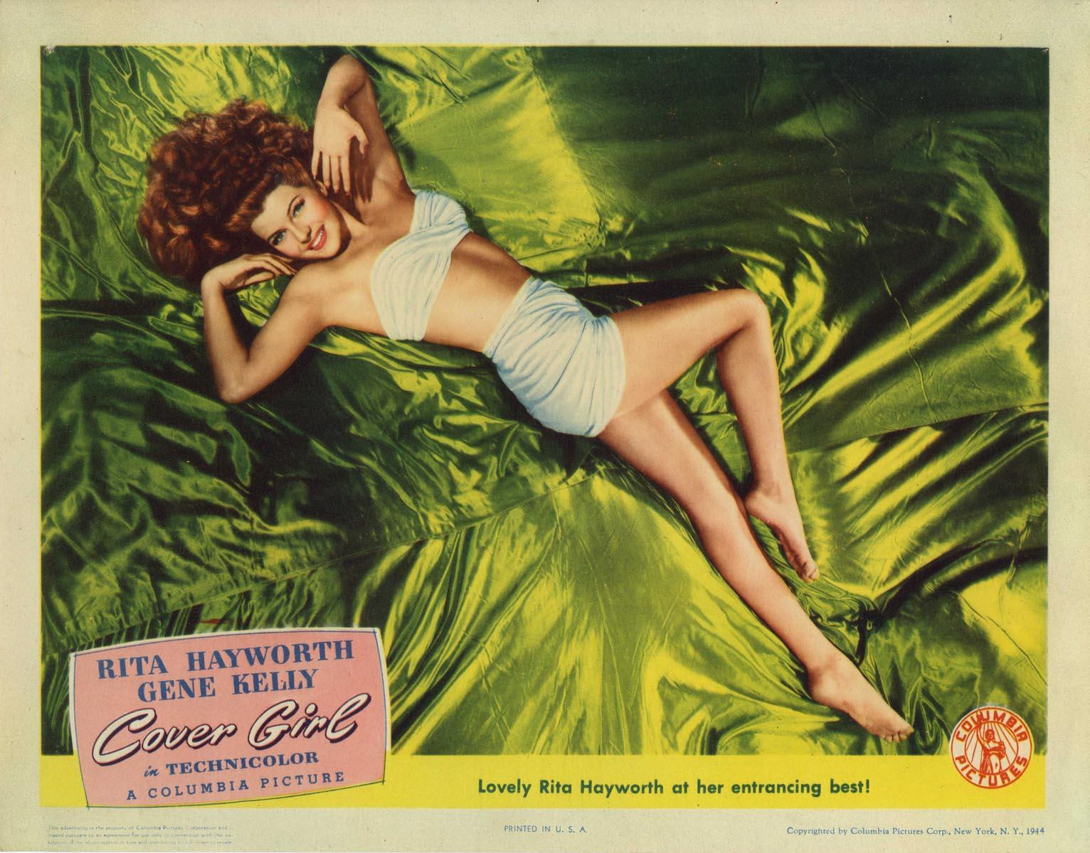 COVER GIRL (1944) Very Good
