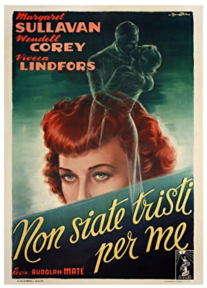 NON SIATE TRISTI PER ME [NO SAD SONGS FOR ME] (1950): Ballester, Anselmo (poster artist)