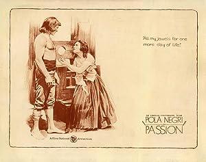 PASSION (1919): Lubitsch, Ernst (director)