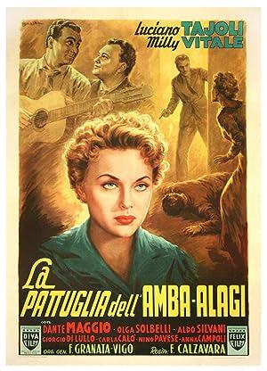 LA PATTUGLIA DELL'AMBA-ALAGI (1953): Ballester, Anselmo (poster artist)