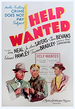 HELP WANTED (1939): Zinneman, Fred (director)