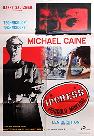 IPCRESS FILE, THE (1965): Furie, Sidney J. (director)