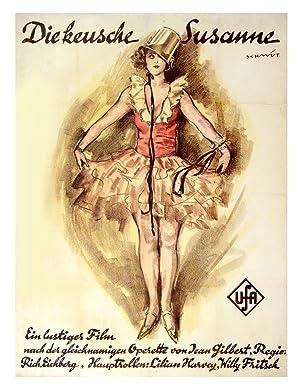 KEUSCHE SUSANNE, DIE [GIRL IN THE TAXI] (1926): Schmidt, Robert (poster artist); Desvallieres, ...