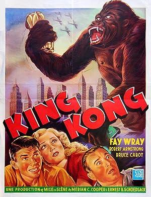 KING KONG (1933; 1962 RR): Cooper, Merian C.; Schoedsack, Ernest B. (director)