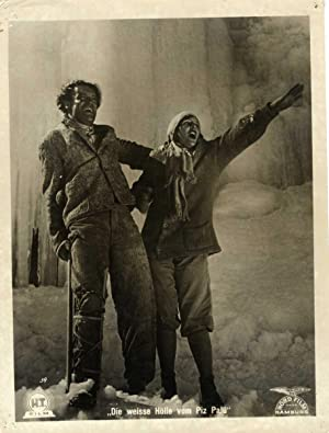 WHITE HELL OF PITZ PALU, THE [DIE WEISSE HOLLE VOM PIZ PALU] (1929; 1935 RR): Fanck, Arnold; Pabst,...