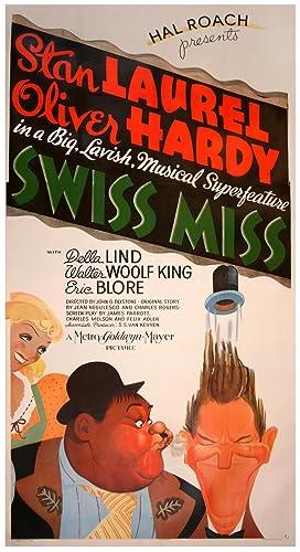 SWISS MISS (1938): Hirschfeld, Al (poster