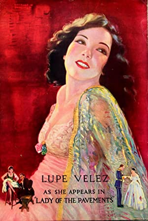 LUPE VELEZ / LADY OF THE PAVEMENTS (1929): Pancoast, Charles W. (poster artist)