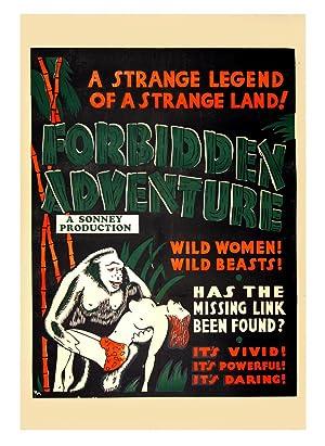 FORBIDDEN ADVENTURE (ca. 1937): Cook, L. C.; Merrick, George M. (director)