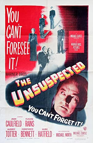 UNSUSPECTED, THE (1947): Curtiz, Michael (director)
