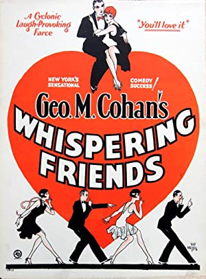 WHISPERING FRIENDS (1928 Broadway prod.): Hadley, Hap (poster artist)