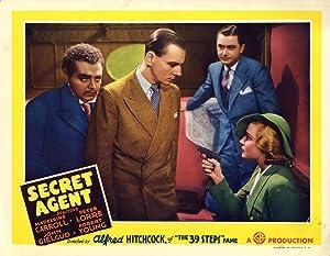 SECRET AGENT (1936): Hitchcock, Alfred (director)
