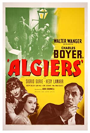 ALGIERS (1938): Cromwell, John (director)