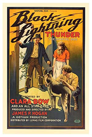 BLACK LIGHTNING (1924): Hogan, James P. (director)