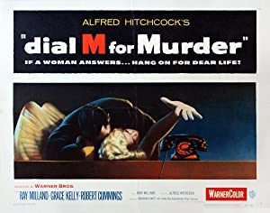 DIAL M FOR MURDER (1954): Hitchcock, Alfred (director)