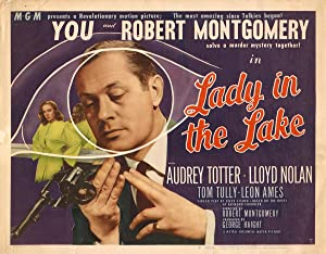 LADY IN THE LAKE (1947): Montgomery, Robert (director)