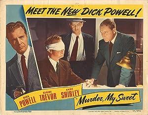 MURDER, MY SWEET (1944): Dymtryk, Edward (director)