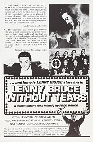 LENNY BRUCE WITHOUT TEARS (1972): Baker, Fred (director)