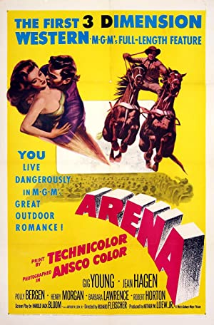 3-D POSTER) ARENA (1953): Fleischer, Richard (director)