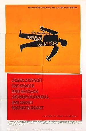 ANATOMY OF A MURDER (1959): Bass, Saul (poster artist)