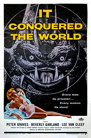 IT CONQUERED THE WORLD (1956): Kallis, Albert (poster artist)