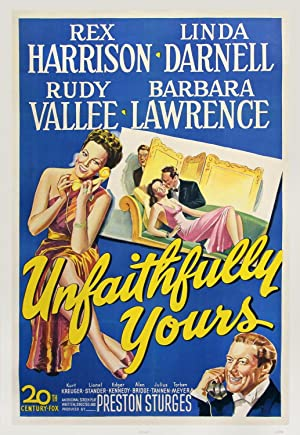 UNFAITHFULLY YOURS (1948): Sturges, Preston (director)