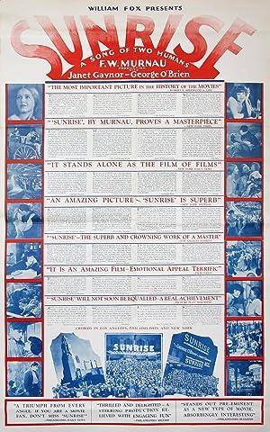 SUNRISE (1927): Jochimsen (poster artist)