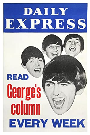 BEATLES, THE / DAILY EXPRESS - READ GEORGE'S COLUMN EVERY WEEK (1963)