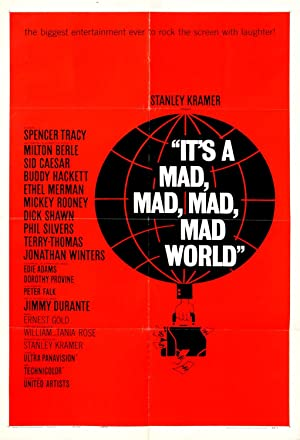 IT'S A MAD, MAD, MAD, MAD WORLD / ART BY SAUL BASS (1963)