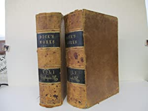 COMPLETE WORKS OF THOMAS DICK, LL.D.; ELEVEN VOLUMES IN TWO: Dick, Thomas, lL. D.