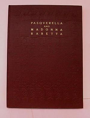 PASQUERELLA AND MADONNA BABETTA: Boccaccio, Giovanni
