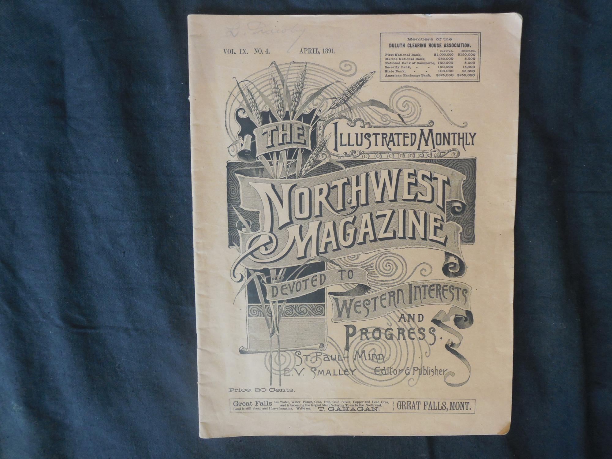 The Illustrated Monthly Northwest Magazine