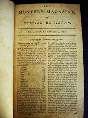 The Monthly Magazine, Or, British Register