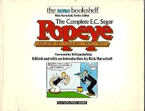 The Complete E.C. Segar Popeye: Volume Six, Dailies 1930-1931: Segar, E.C.; edited by Rick ...