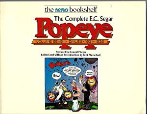 The Complete E.C. Segar Popeye: Volume Seven, Dailies 1931-1932: Segar, E.C.; edited by Rick ...