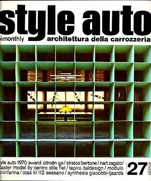 Style Auto Architettura della Carrozzeria No. 27: Dinarich, Mario, editor