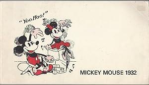 Mickey Mouse 1932 (paperback): Disney, Walt