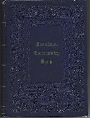 Pasadena Community Book (1951 Edition): Shoop, C.F., editor
