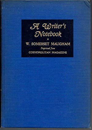 A Writer's Notebook: Maugham, W. Somerset