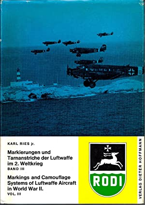 Markings and Camouflage Systems of the Luftwaffe: Ries, Karl