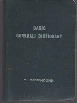 Basic Gurkhali Dictionary