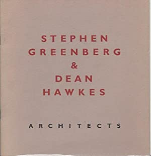 Stephen Greenberg & Dean Hawkes: Architects: Greenberg, Stephen, & Dean Hawkes