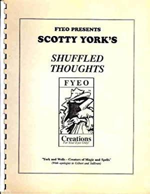 Shuffled Thoughts (Signed): York, Scotty