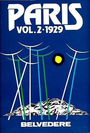 Paris 1928-1929: Volume 2 (Belvedere Designbook Fashion, Textiles, Graphic Designs Volume 19 Part 2...