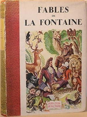 Fables De La Fontaine - Illustrations De Raoul Auger: Jean De La Fontaine