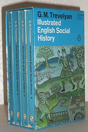 Illustrated English Social History - 4 Volumes in Slipcase