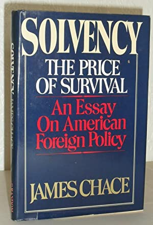 Solvency - the Price of Survival
