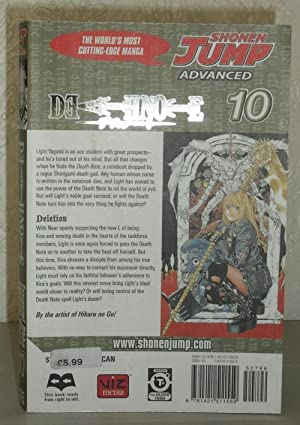 Death Note Vol 10 The Manga Edition: Shonen Jump Advanced